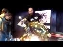 Вручение мотоцикла в клубе Мёд на закрытии мото сезона 2017 Black Bears MC