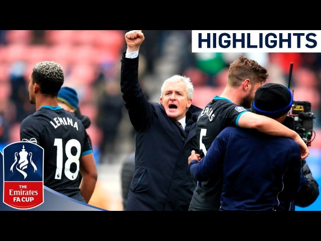 Saints See Off Plucky Wigan in Hughes' 1st Game   Wigan 0-2 Southampton   Emirates FA Cup 2017/18