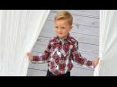 Camisa de cuadros de niño. REVISTA DE PATRONES INFANTILES Nº 5.