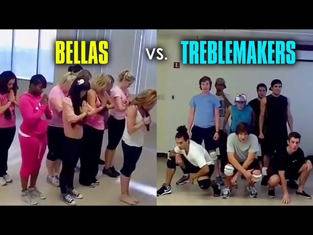 Bellas Treblemakers Rehearsal Footage from Pitch Perfect [Full]