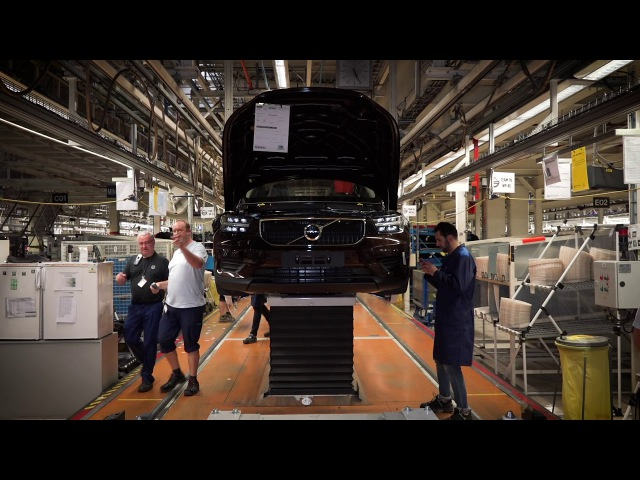 XC40 Production Line In Ghent