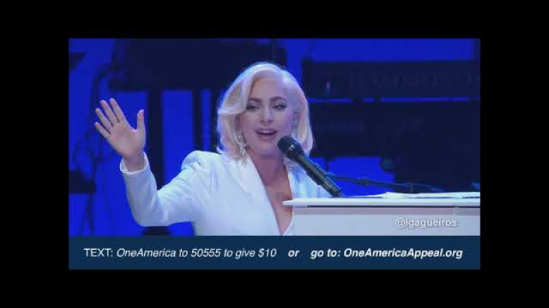 HD Lady Gaga One America Appel Million Reasons You and I The Edge of Glory