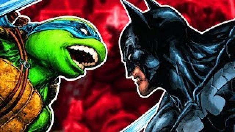 БЭТМЕН и ЧЕРЕПАШКИ-НИНДЗЯ: ТАЙНЫЕ ПЛАНЫ ШРЕДДЕРА!3 DC. IDW. Batman Teenage Mutant Ninja Turtles