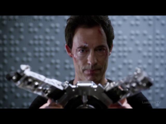 Флеш 1 сезон 9 серия Сцена после титров Обратный Флеш получает Тахионный ускоритель частиц