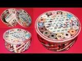 How to make a jewellery box using newspaper &amp Cardboard DIY Newspaper Craft Idea LifeStyle Designs