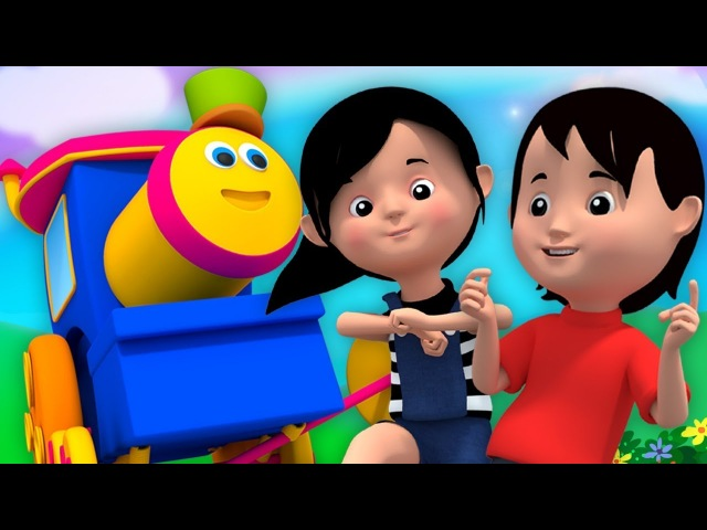 Bob den Zug | über den Berg | reim für Kinder | Kinderlied | Nursery Rhymes | Bob Over The Mountain