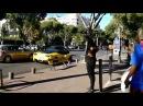 Tournage du film Taxi 5 à Prado (Marseille)
