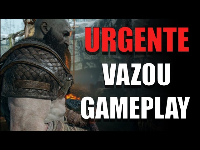 VAZOU UM GAMEPLAY DE 10 MINUTOS DO NOVO GOD OF WAR !!