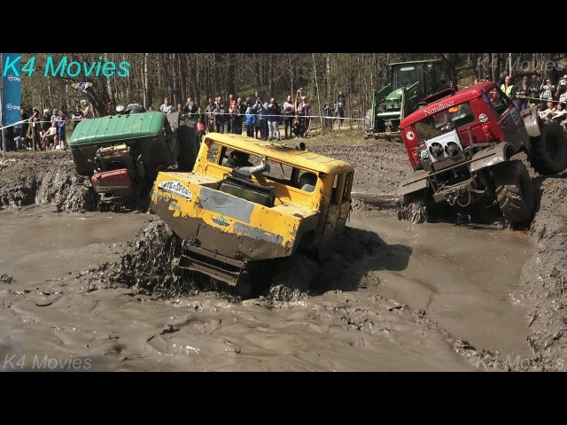 4x4 Off-Road Trucks in Water pit | Truck Show | Mud Race | ORO 2017