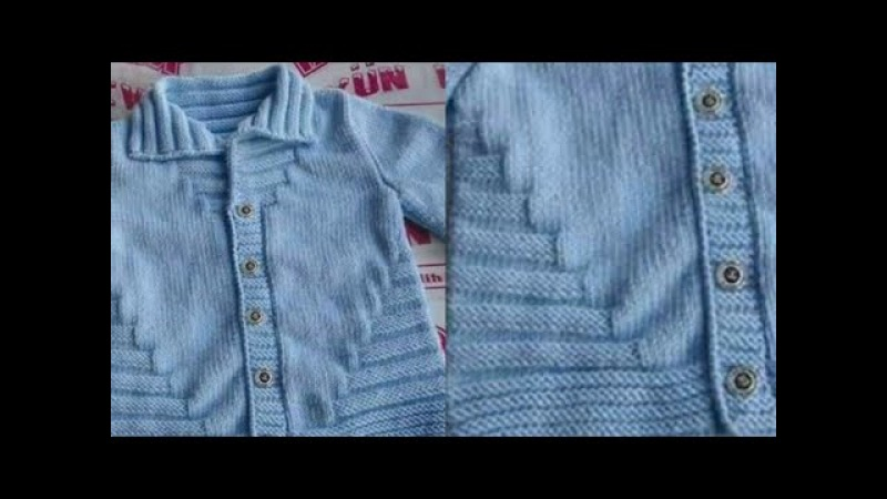 Easy Knitting for Beginners in Hindi/Steps Cardigan Design for Kids:Design-126