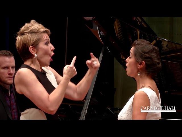 "Joyce DiDonato Master Class January 2016: Puccini's ""Donde lieta usci"" from La bohème"