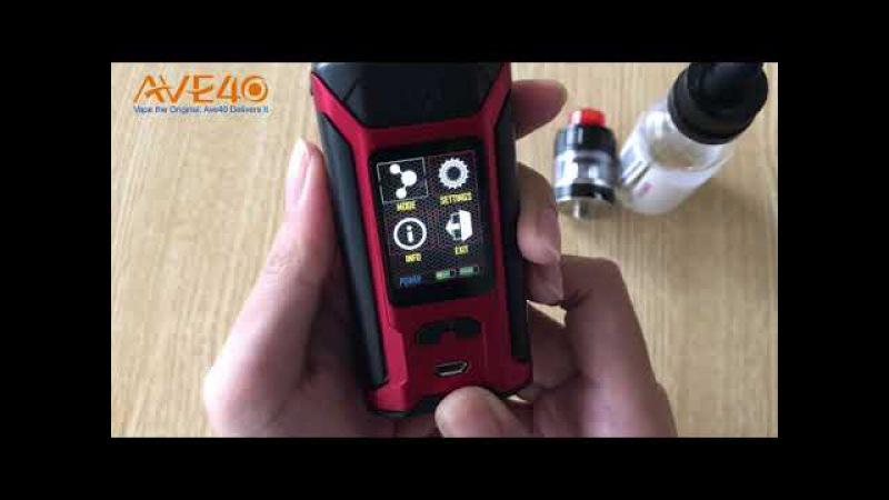 Quick look at Wismec Sinuous Ravage230 Kit
