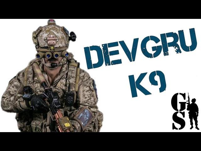 Коллекционная фигурка бойца DEVGRU со служебной собакой 1/6 (DAM 78040) - DAMTOYS