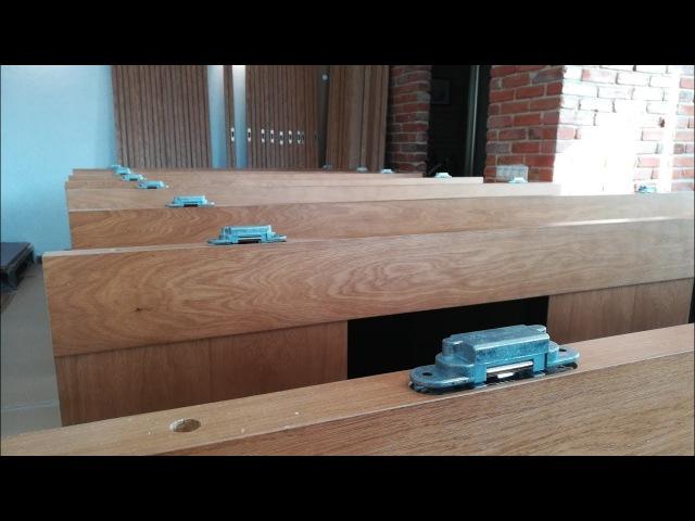 Усиление коробки под скрытые петли. RadaMorelli/EstetAGB