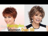 50+ Simple Short Hairstyles for Women Over 50