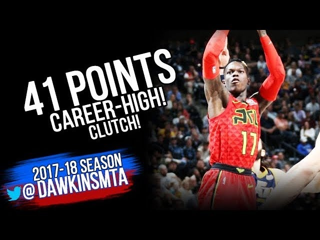 Dennis Schroder Carrer-HiGH 41 Pts 2018.3.20 Atlanta Hawks vs Jazz - 41 Pts, CLUTCH! | FreeDawkins