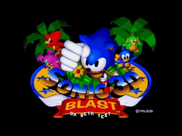 🔥Sonic 3D Blast DX Beta