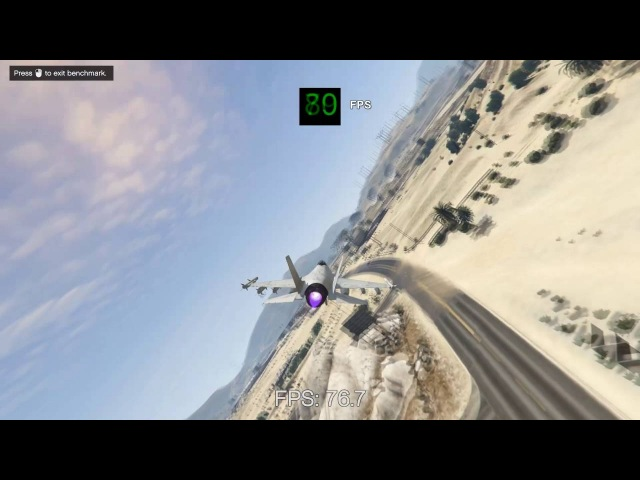 AMD Radeon R9 270X -- Intel Core i3-6100 -- Grand Theft Auto V GTA V Benchmark