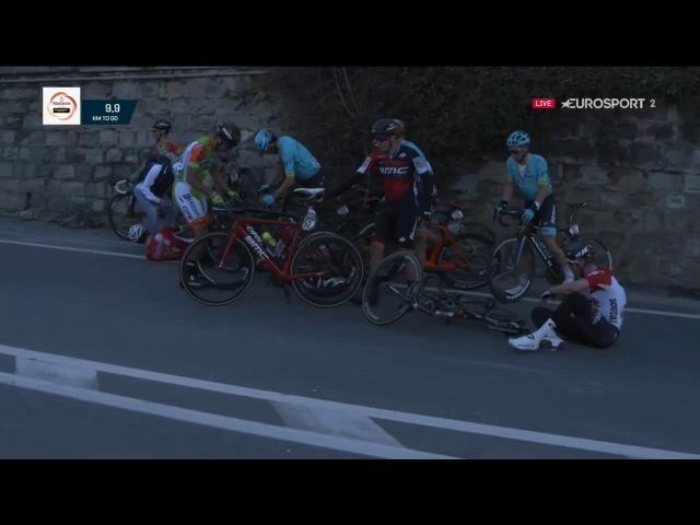 Mark Cavendish Crash (Milan San Remo 2018)