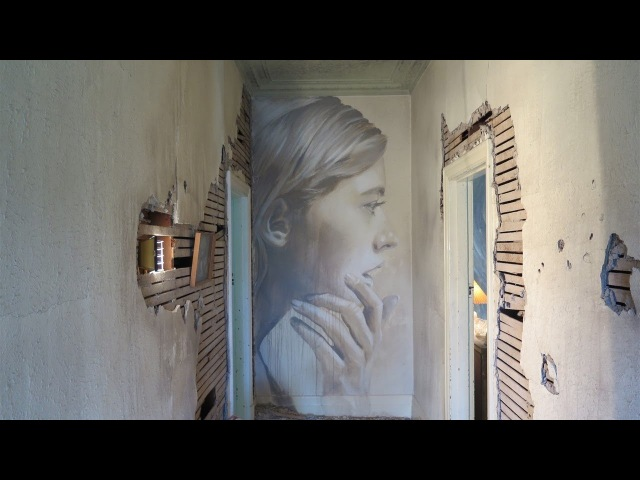Street Artist RONE - The Omega Project, Melbourne
