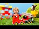 Набор Лего - Мультик с игрушками - Собираем машинку