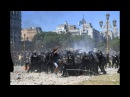A fierce riot explodes in Buenos Aires as Argentina congress debates massive pension cuts