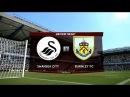 Swansea City vs Burnley Saturday Premier League Matchday Live PES 2017 HD