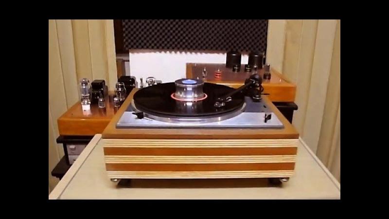 LENCO L75 rebuild plinth - Canton GLE 70 - LP PHILIPS Mandolin Concertos Takashi Ochi