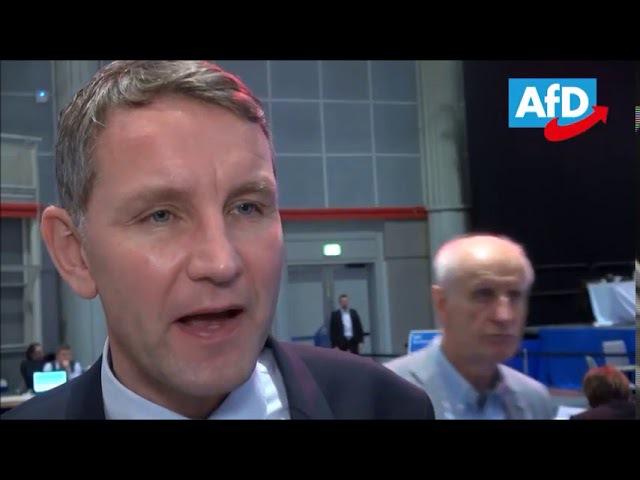 Björn Höcke zieht ein positives Fazit nach dem AfD Bundesparteitag in Hannover