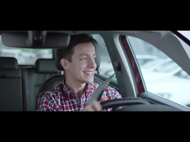 Аdvertising Volkswagen Tiguan 2017 с системой кругового обзора Area View