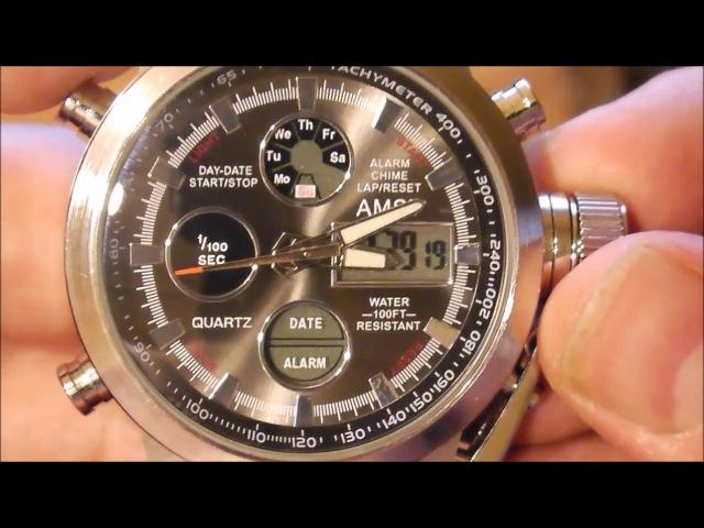 Видеообзор ударопрочных и водонепроницаемых часов