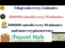 More cryptocurrency evry 10 min, to your FaucetHUB.io account