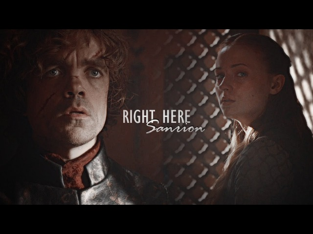 Tyrion sansa || right here