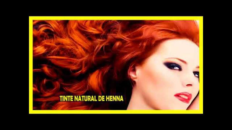 Tinte de henna para que tengas el cabello del color que más te gusta sin usar químicos