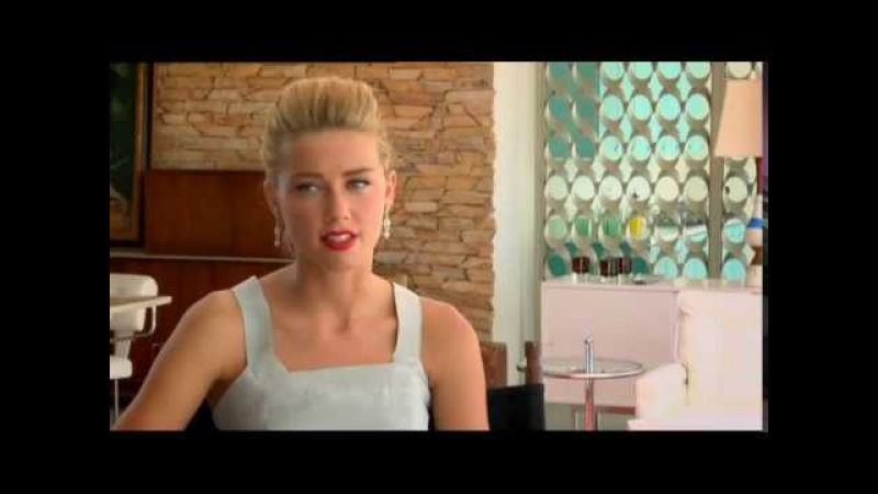 The Rum Diary - Amber Heard Interview