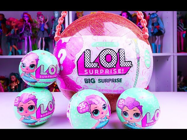BRAND NEW! L.O.L BIG SURPRISE GOLD BALL OPENING!