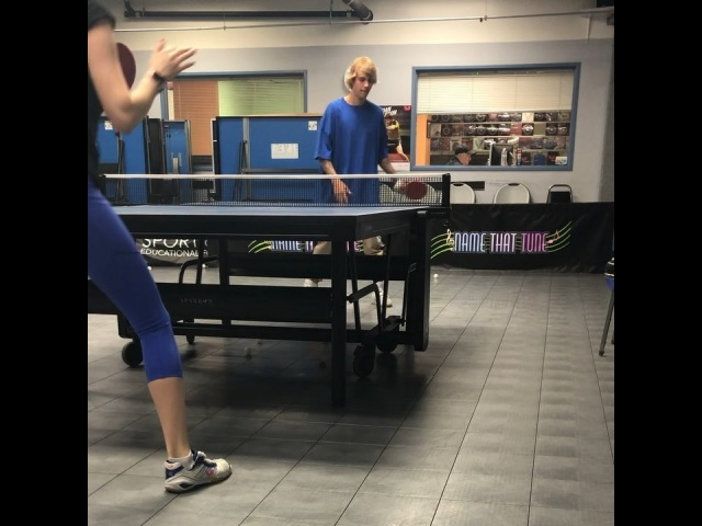 Anastasia Rybka on Instagram Good rally 🏓🏓👊🏼 forehand side @justinbieber @gilbertttc tabletennis justinbieber sport videooftheday healthylif