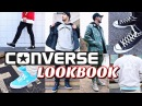 CONVERSE LOOKBOOK How To Style Converse Sneakers Chuck Taylor's One Star's Fast Break