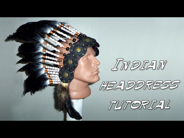 Костюм индейца на новый год своими руками Indian headdress DIY