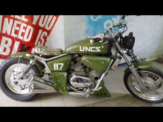 250cc V-Twin Motorcycles