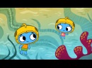 Мультфильмы для Малышей - Котики, вперед! - Водолазы (12 серия)