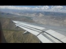 Tibet Air China - Airbus A319 - Landing in Lhasa Tibet