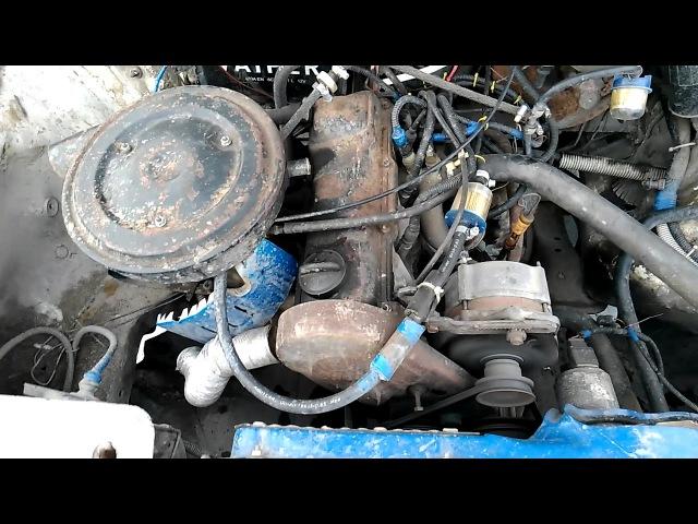 Двигатель RU 1.8 Audi 80 B3 на Солексе
