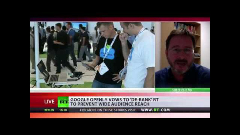'GOOGLE CENSORSHIP OF RT TAKES ATTENTION AWAY FROM MIDDLE EAST SYRIA' – ANALYST.