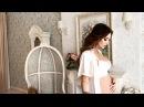 Беременная Настя Лисова приготовила романтический видеопривет для своего мужа