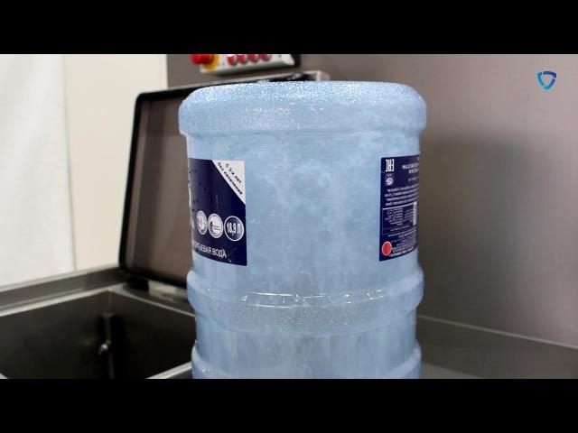 Машина FELETI для мойки пластиковых бутылей