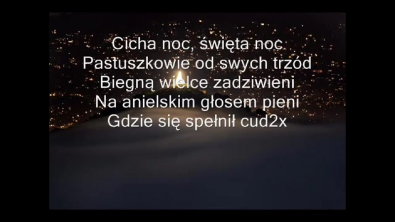 KOLĘDA - Cicha noc