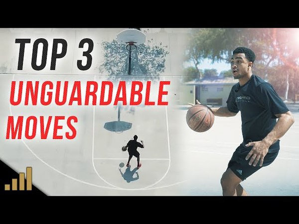 Top 3 UNGUARDABLE 1 On 1 Moves to Break Ankles (Simple Basketball Moves)