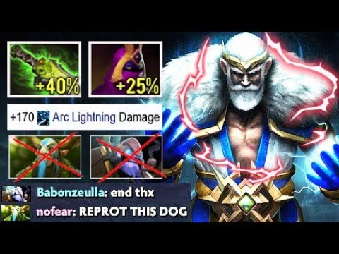 WTF CRAZY 1s 500 Damage Arc Shotgun Zeus Counter Rat Nofear and Tinker by Mouse Rage Game Dota 2