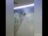 Первый свадебный танец Виктора и Екатерины Алюновых